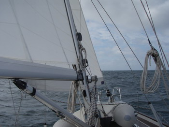 Sailing to Dieppe