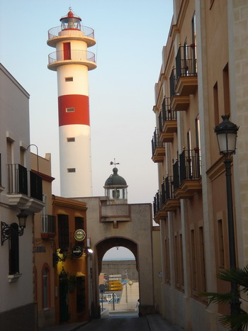 Rota lighthouse